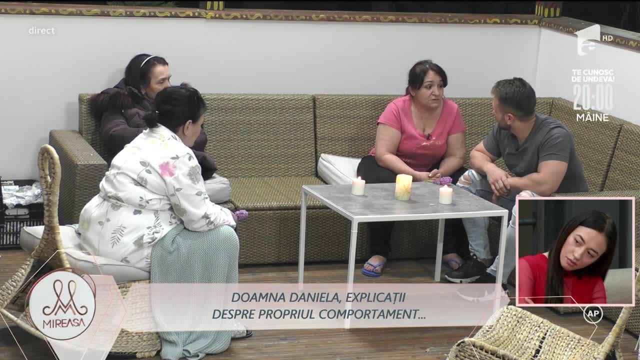 Doamna Daniela, explicații despre propriul comportament în fața lui Alin: Dacă ea mă lasă, eu o las!