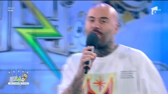 Matteo cântă piesa Arangabumba, la Neatza cu Răzvan și Dani