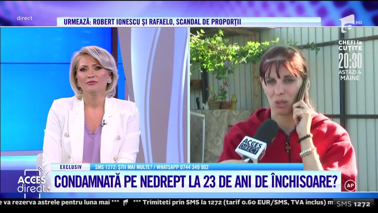 O femeie îşi strigă nevinovăţia, printre lacrimi şi suspine, după ce a fost acuzată că şi-a ucis soţul: Mă așteaptă 23 de ani de închisoare!