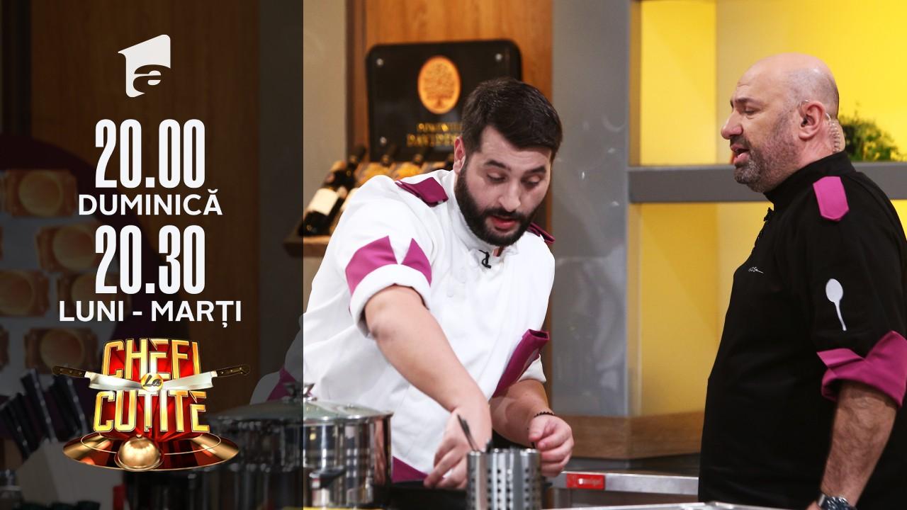 Chef Scărlătescu își pune echipa să tundă ouă cu foarfeca! Valentina: Ăsta are breton, trebuie luat pierdut!