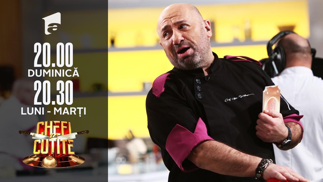 Chef Scărlătescu folosește o amuletă importantă. La ce trebuie să renunțe chef Dumitrescu