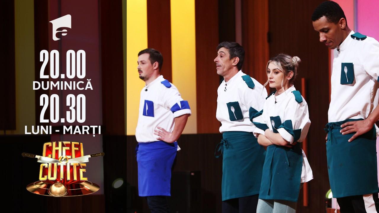Eliminare cu lacrimi. Alexandro Matias a părăsit competiția Chefi la Cuțite!