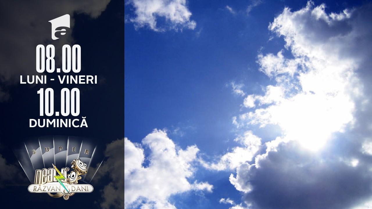 Prognoza Meteo pentru următoarele zile. De când revin ploile