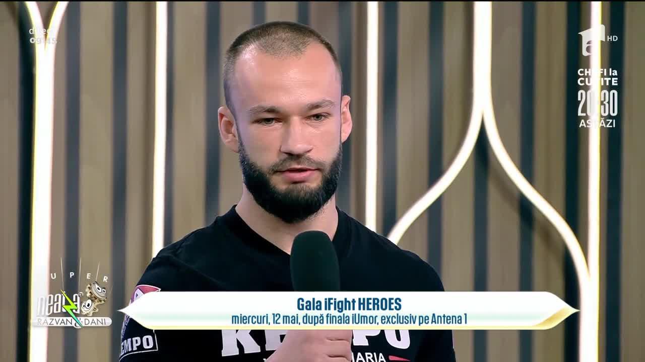Artele marțiale, o tradiție în familia Zaharia. Yamato Zaharia va fi arbitru în Gala iFight Heros, miercuri, 23:30, la Antena 1