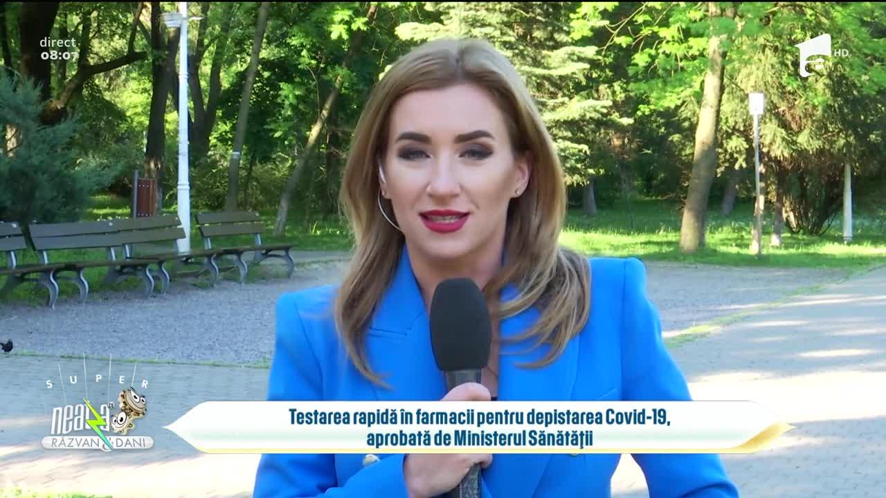 Testarea rapidă în farmacii pentru depistarea Covid-19, aprobată de Ministerul Sănătății