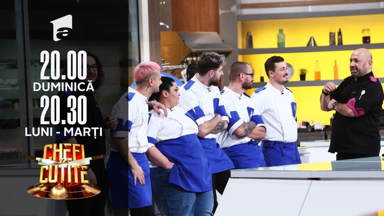 """Proba """"Condimente"""", jurizarea. Chef Scărlătescu câștigă din nou: Suntem forță!"""
