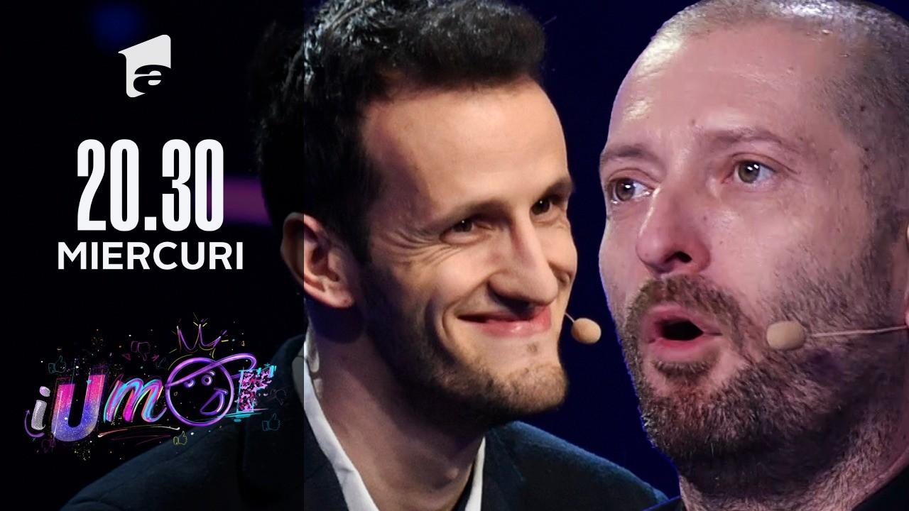 """Andrei Ungureanu, omul cu Tourette, din nou la iUmor. Cu ce număr a făcut show pe scenă: """"Practic, am început să dau și dedicații"""""""