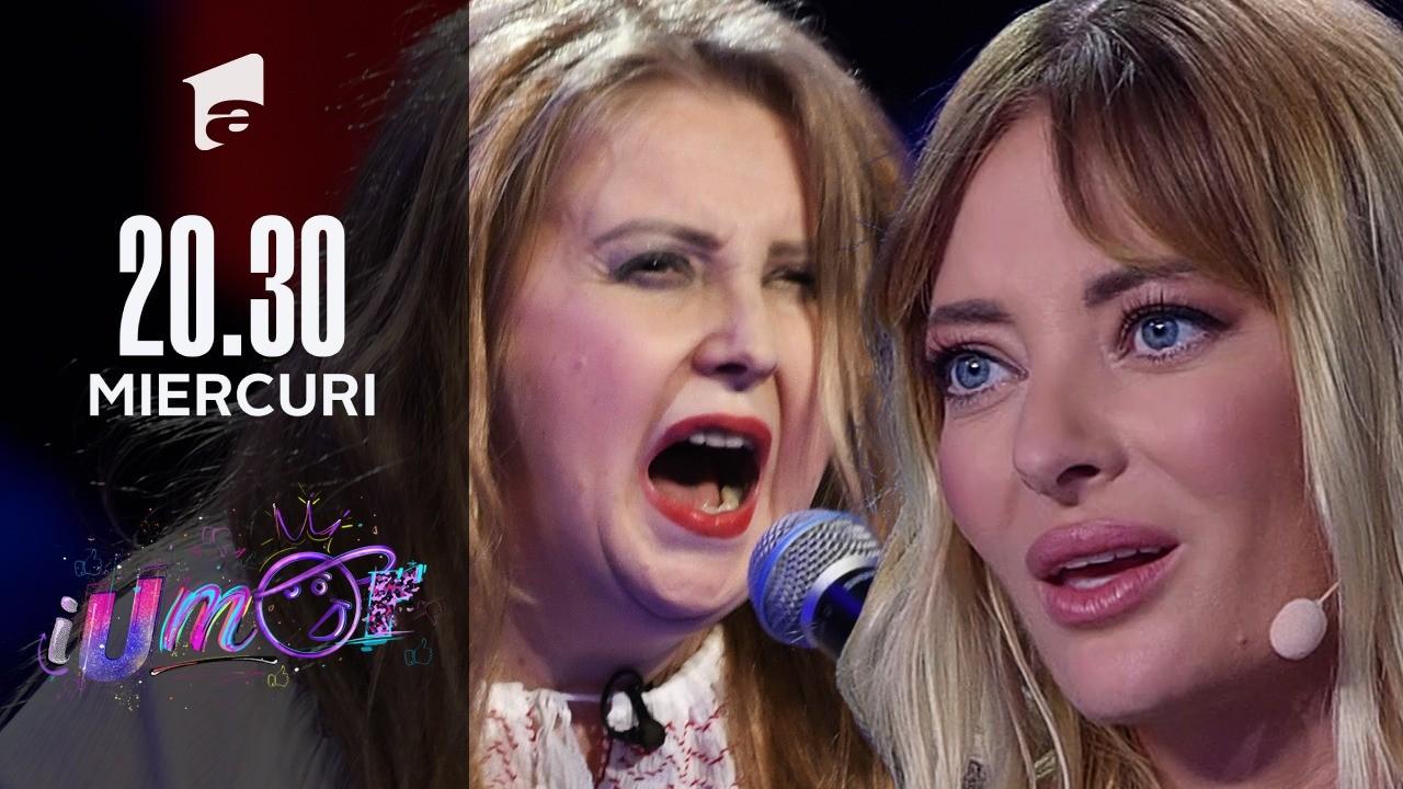"""A câștigat sezonul 6 iUmor cu Viorica Dancilă, acum a venit cu un alt număr special: Diana Șoșoacă. """"Păi noi mai credem în Moș Crăciun?"""""""
