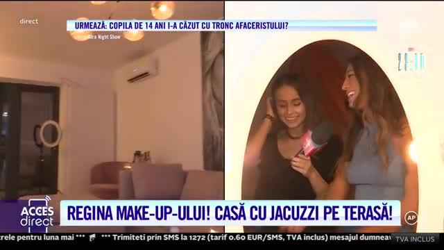 Ema Uta, regina make-up-ului, casă cu jacuzzi pe terasă