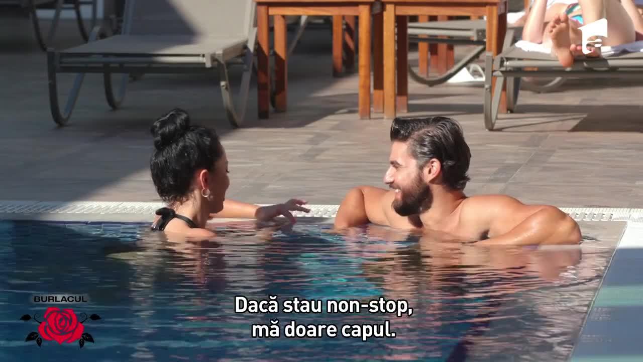 Andi și Kubra, întâlnire relaxantă la piscină și SPA: La început am fost stânjenit