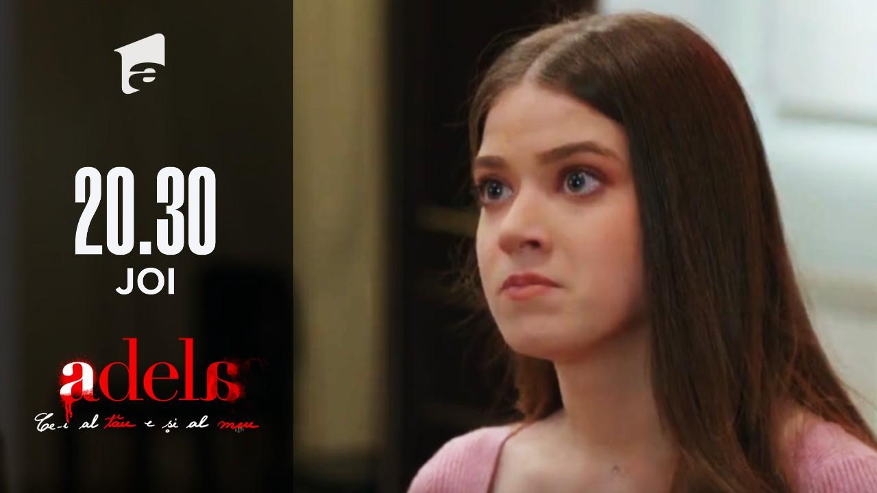 Adela, episodul 35. Adela îl lovește cu palma peste față pe Mihai!