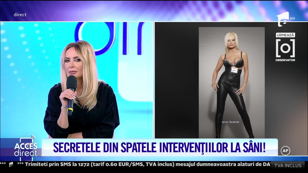 Daniela Gyorfi vorbeşte despre drama pe care o trăieşte, după ce i s-a spart implantul de silicon al sânului drept!