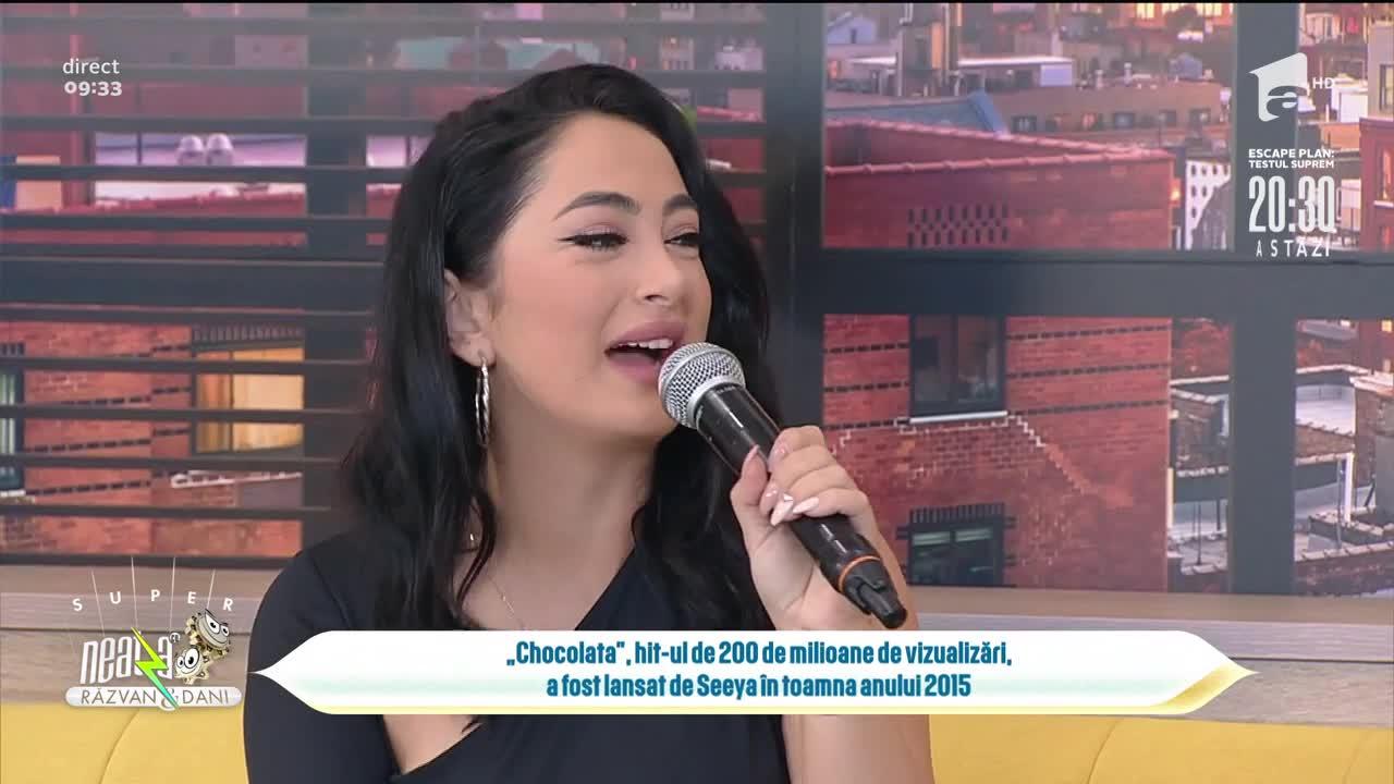 Seeya, show incendiar, în direct, la Super Neatza