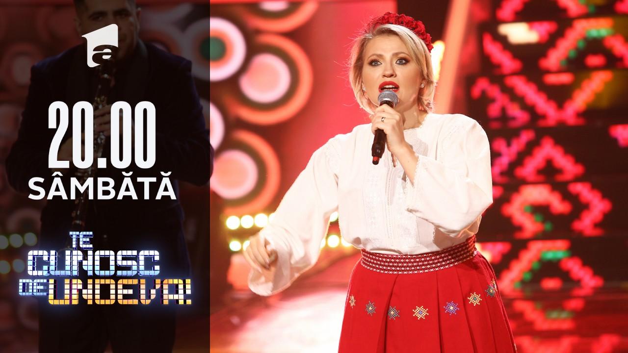 Mirela Vaida, spectacol muzical alături de Taraful Silvian Voicu, în finala Te cunosc de Undeva