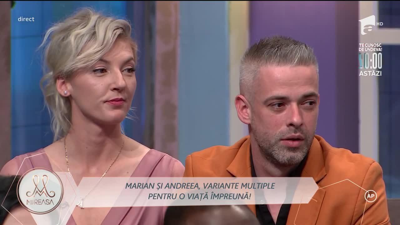 Marian și Andreea, visând la o viață tihnită în doi
