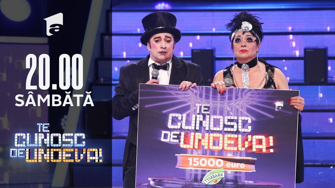 Adriana și Romică câștigă marea finală Te cunosc de Undeva, sezonul XVI