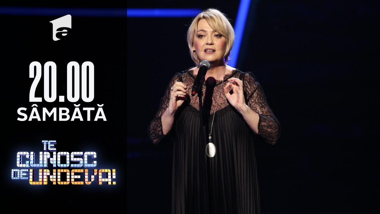 Emilia Popescu, monolog în marea finală Te cunosc de Undeva
