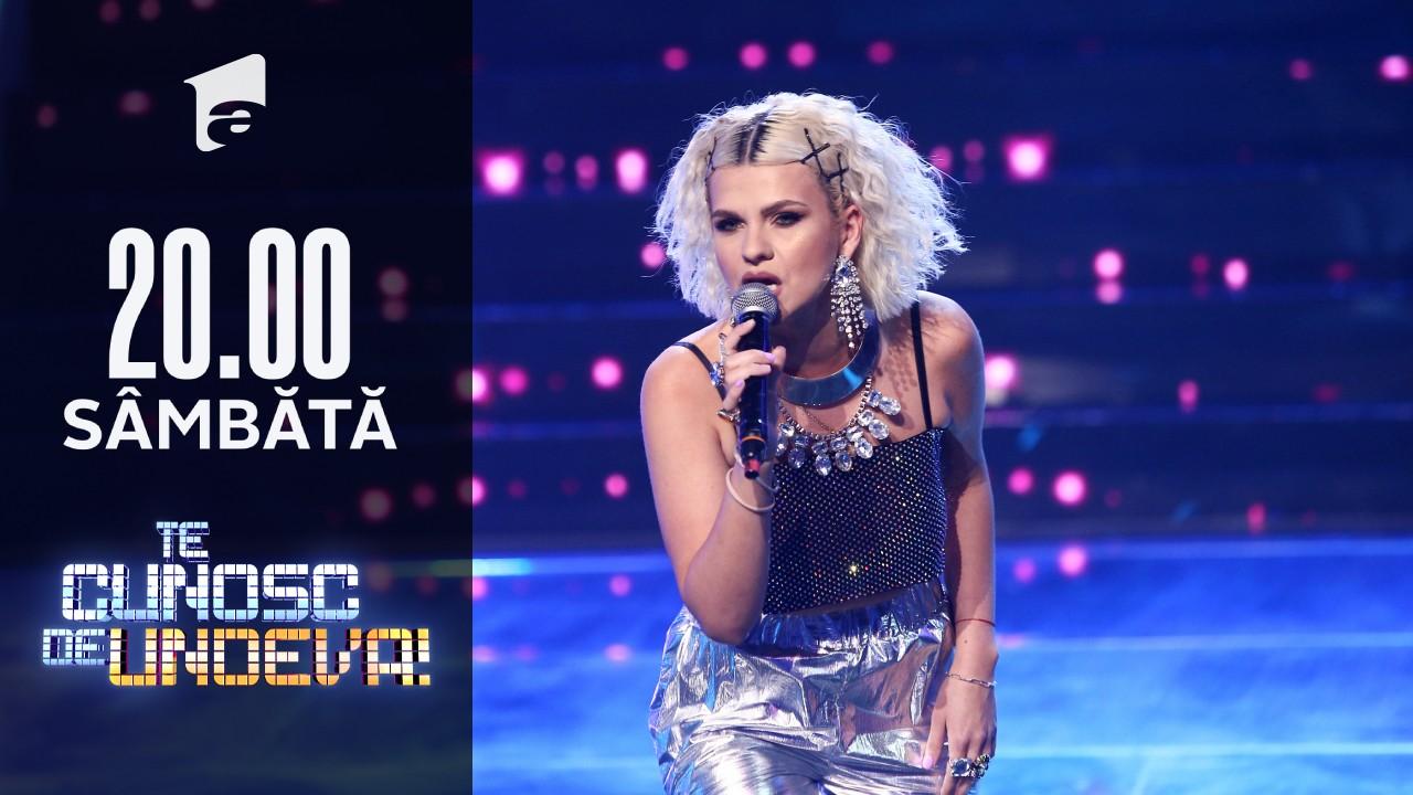 Cristina Vasiu cântă piesa The Best, în finala Te cunosc de Undeva