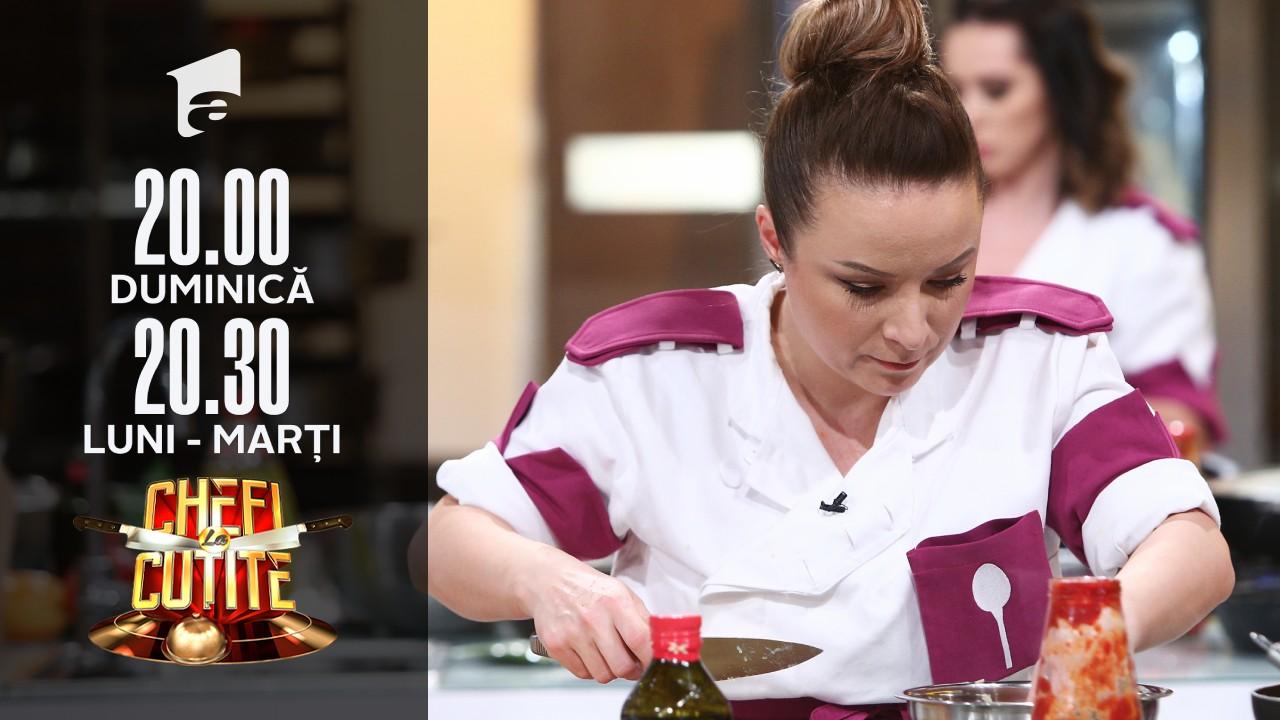 """Tensiuni în echipa lui Chef Scărlătescu! Valentina: """"Eu sunt în echipa mov, dar nu în a voastră"""""""
