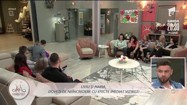 Radu și Alina, analiza unei gelozii nefondate: Liviu este imatur. Are degeaba 34 de ani!