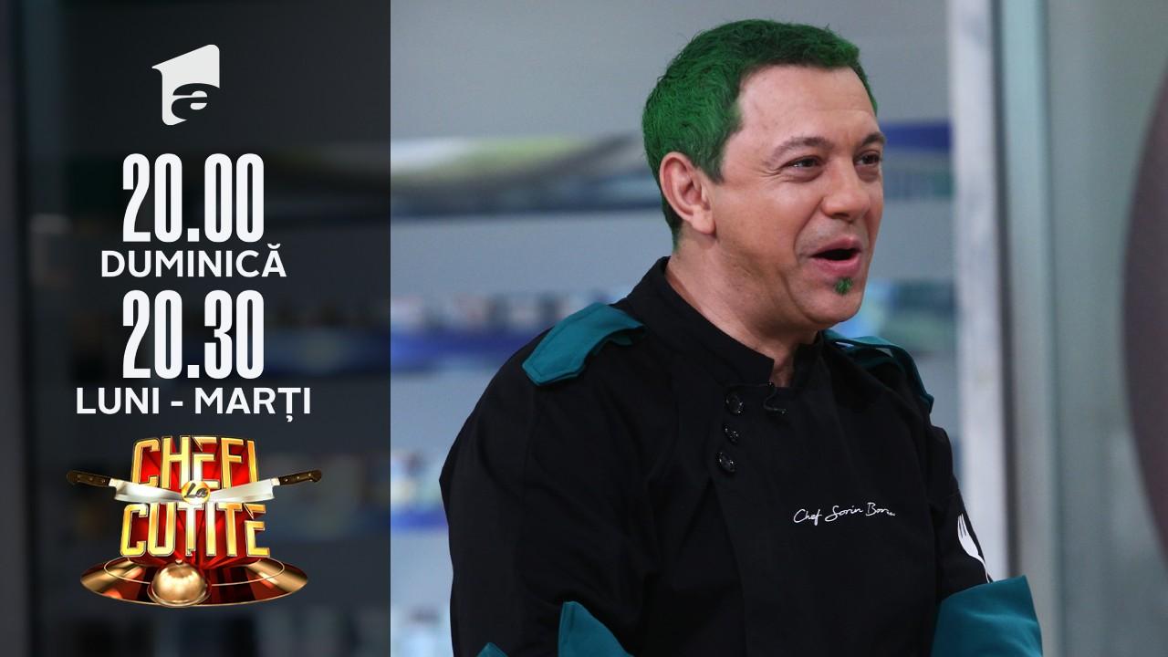 """Sorin Bontea și-a vopsit părul în culoarea verde! """"Poate rup ghinionul și așa câștig"""""""