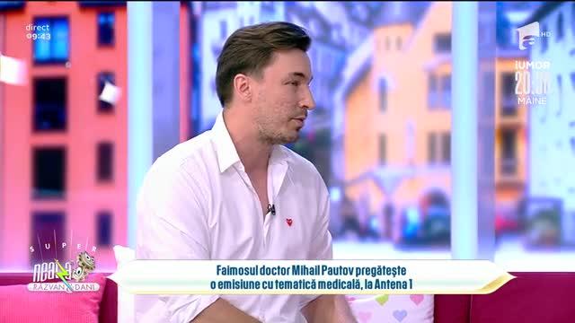 Doctor Mihail Pautov, emisiune cu tematică medicală la Antena 1: Va fi amuzantă
