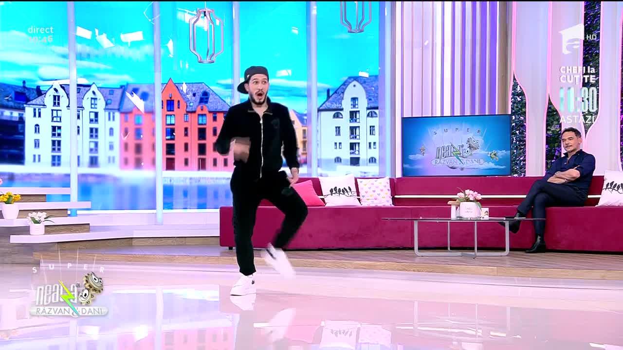 Cosmin Akan, show amuzant de dans la Super Neatza