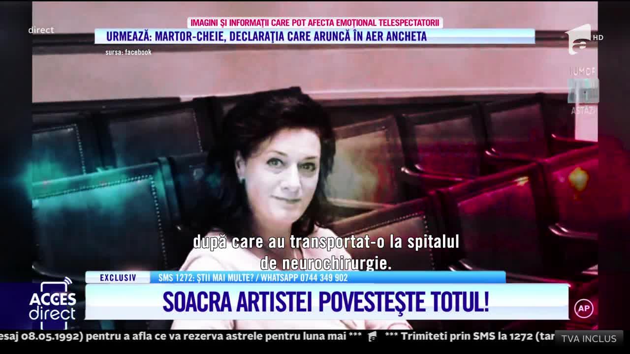 Soacra mezzosopranei Maria Macsim Nicoare, declaraţii halucinante în faţa anchetatorilor!