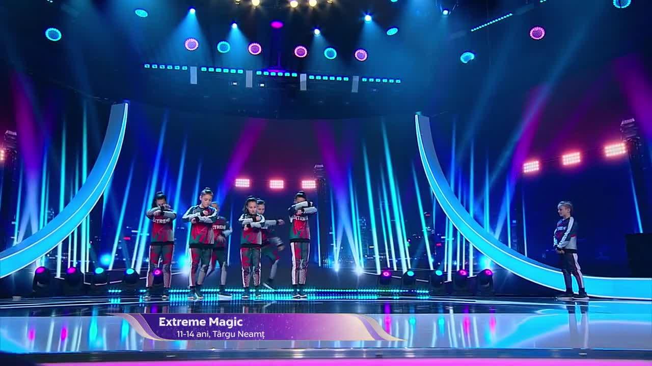 Next Star - Sezonul 10: Extreme Magic - Street dance