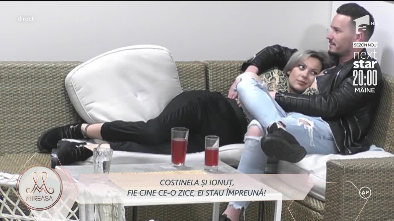 Ionuț și Costinela, primul sărut: Formăm un cuplu!
