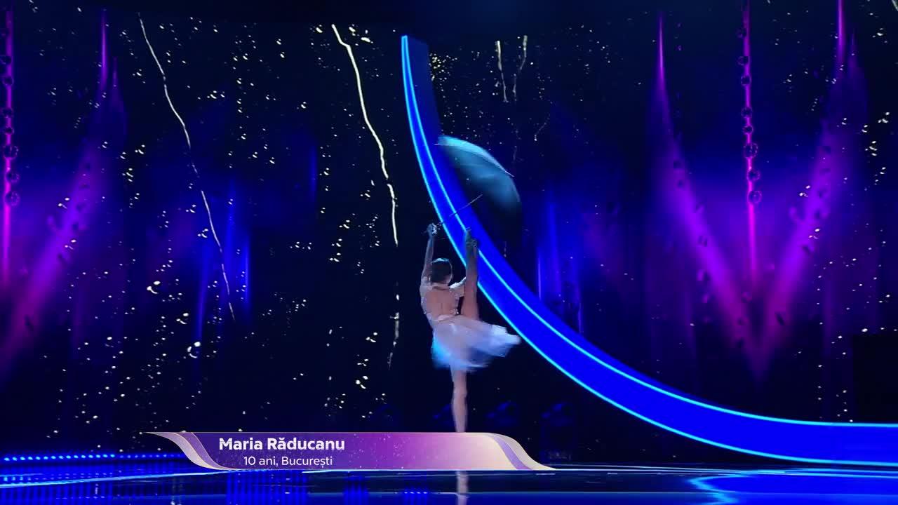 Next Star - Sezonul 10: Maria Răducanu - Moment de dans acrobatic