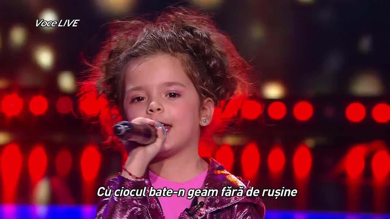 """Next Star - Sezonul 10: Brianna Fora - Interpretează piesa """"Guguștiucul"""""""
