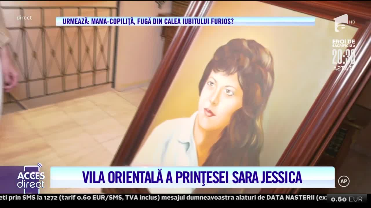 Vila orientală a prințesei Sara Jessica