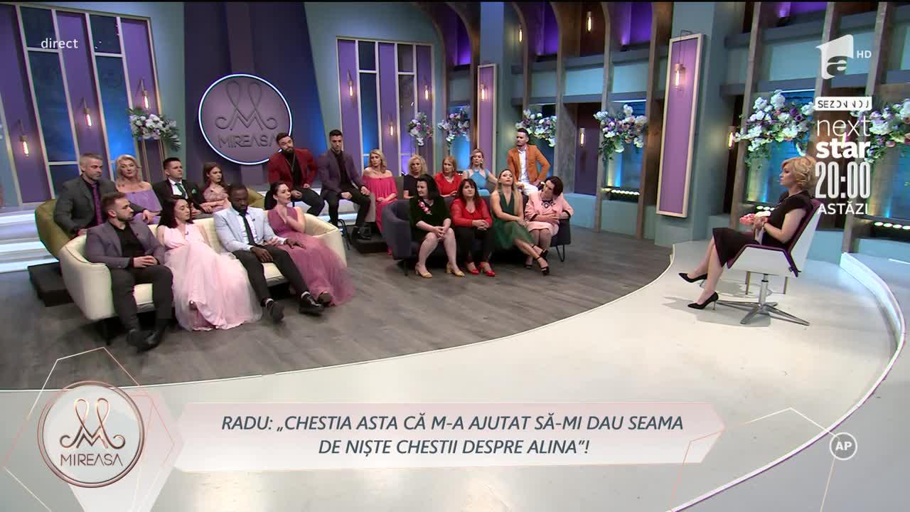 Radu, despre reacția Alinei: De genul ăsta de femeie mă feresc!