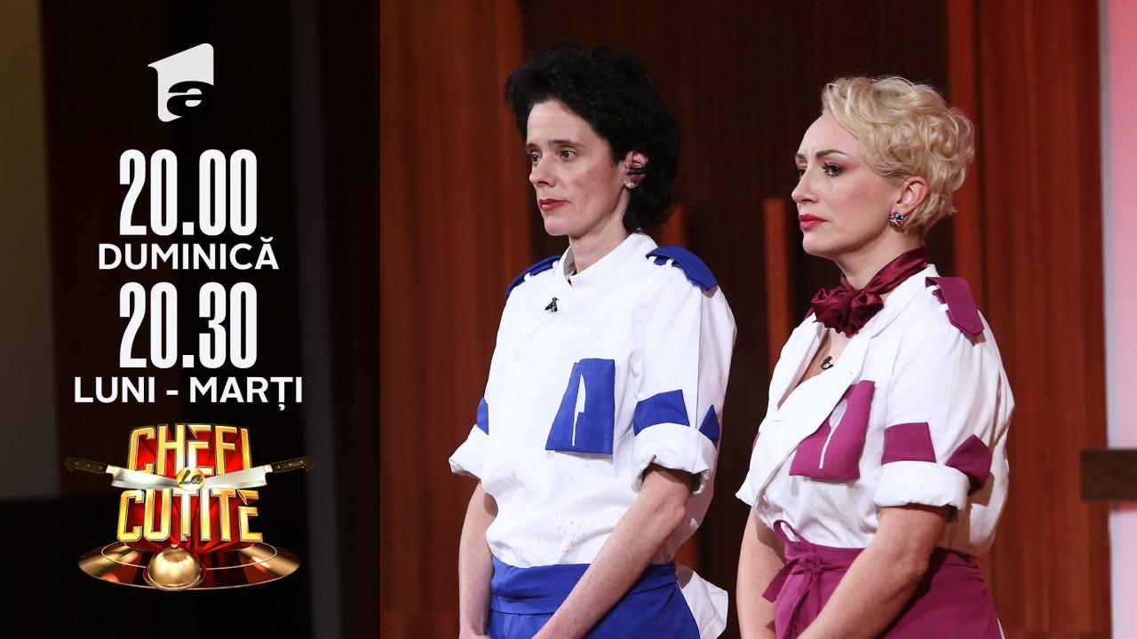Mirela Negoiță a fost eliminată din competiţia Chefi la Cuţite