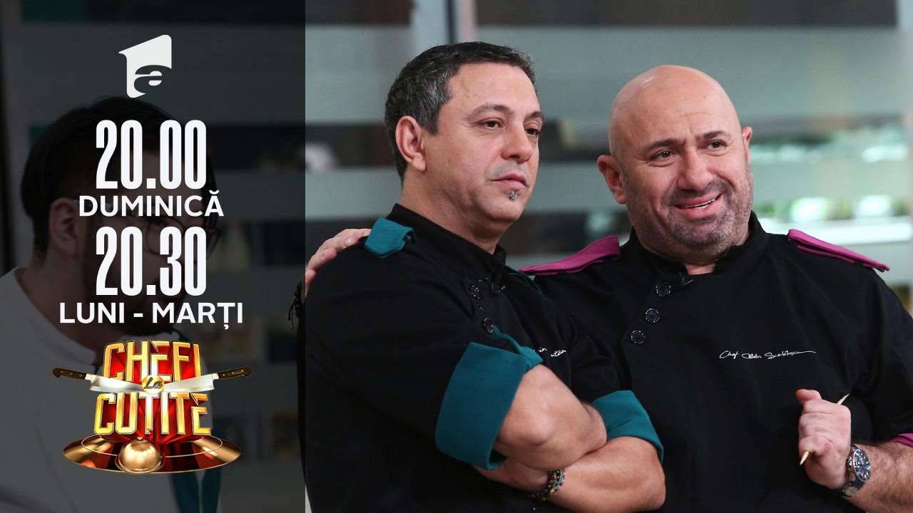 Emoții la banda Chefi la cuțite! Chef Sorin Bontea: Mă apucă nervii!