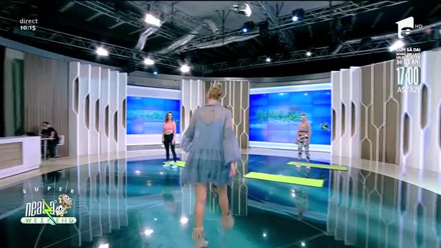 Exerciții abdomen superior și inferior. Ilona Brezoianu, asistentă de fitness: Unde e portocala?