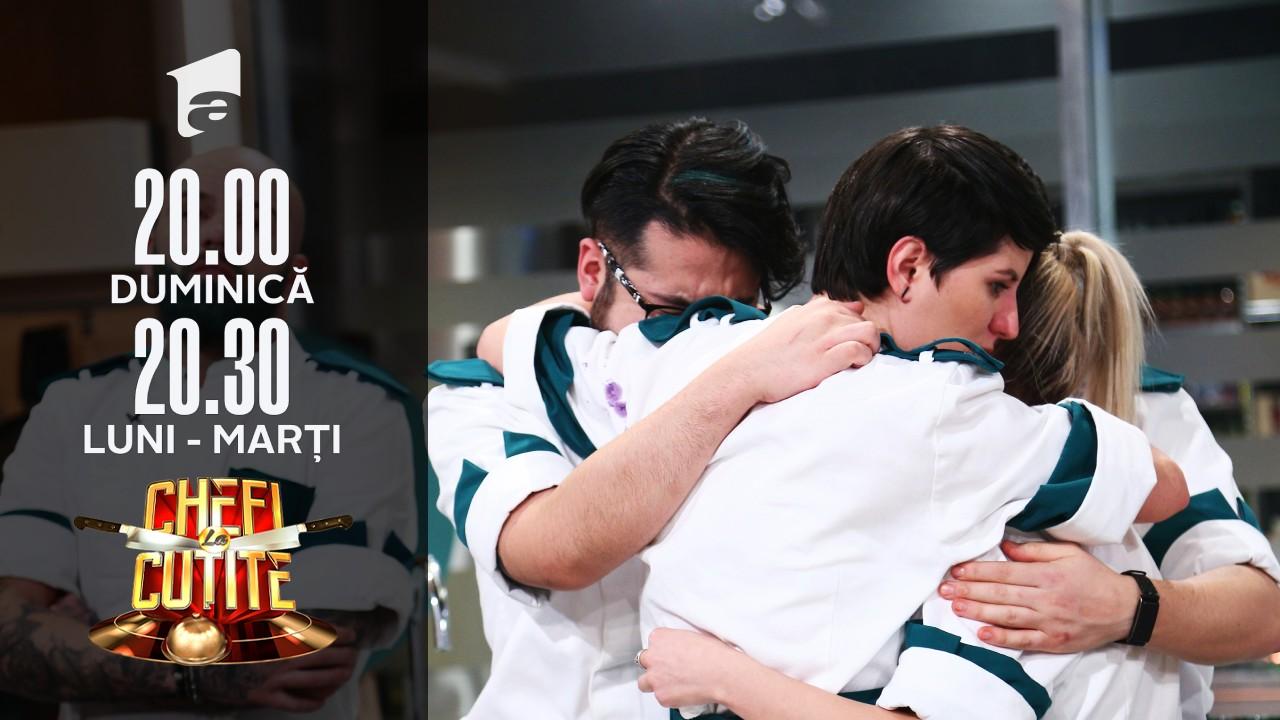 Lacrimi și emoție la Chefi la Cuțite! Cristina Mălai a fost eliminată din concurs