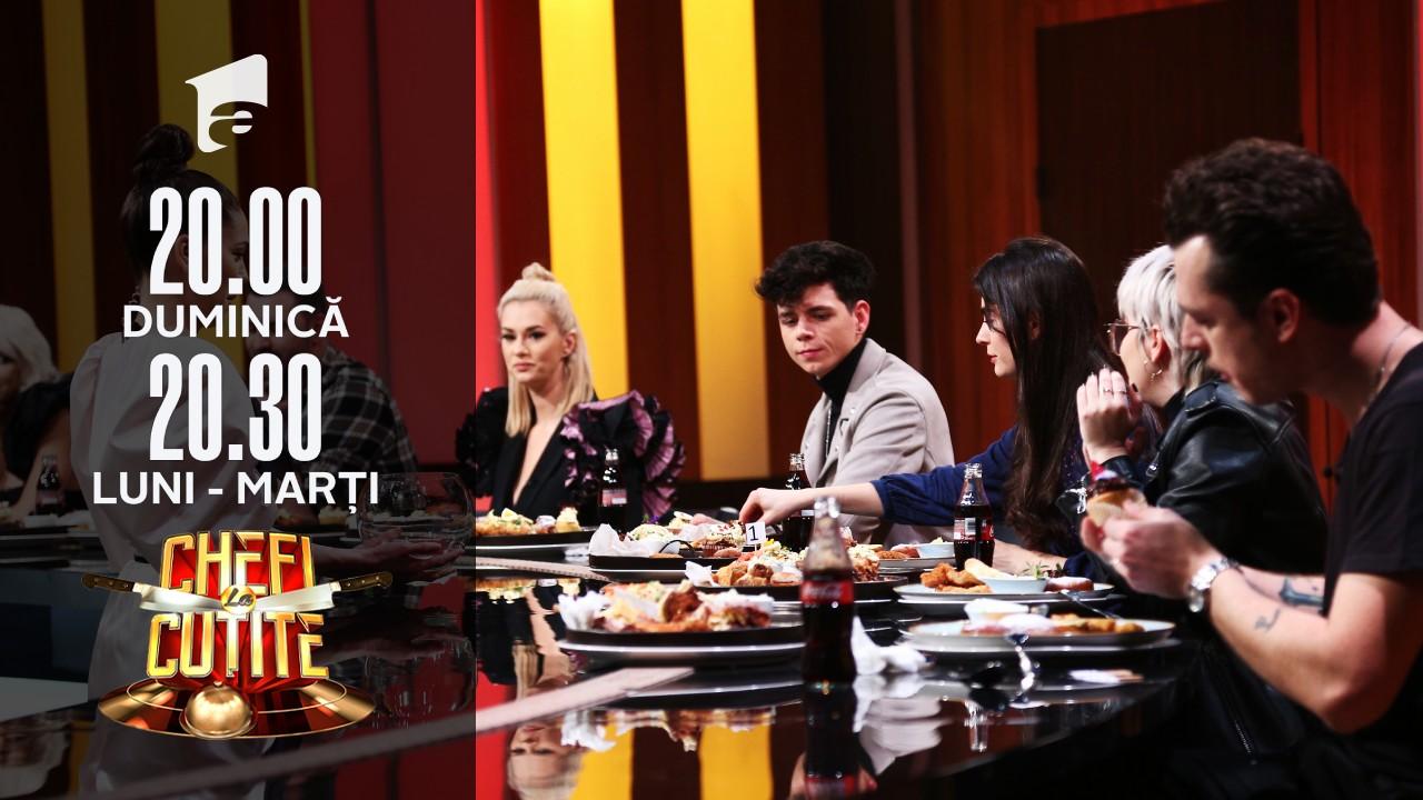 Membrii casei de producții HaHaHa Production au jurizat preparatele celor trei echipe!