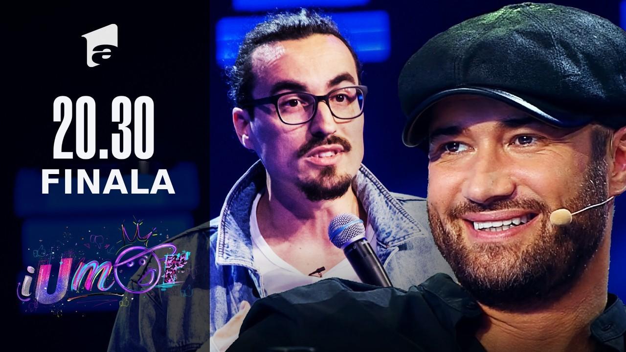 Alex Mincu, super moment cu invitatul special în finala iUmor