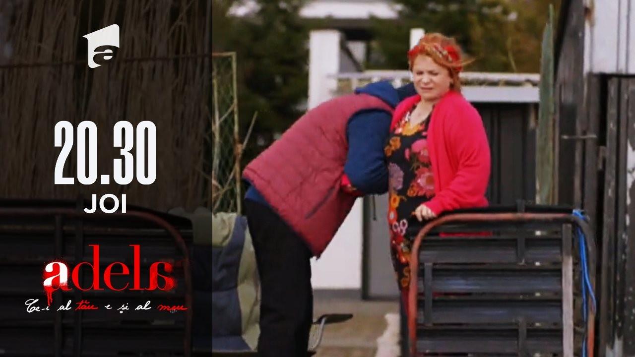 Adela, episodul 40. Mitu și Nuți găsesc cadavrul Ginei! Poliția vine acasă la Paul Andronic