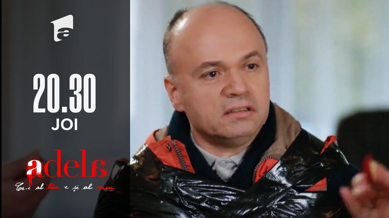 Adela, episodul 39. Legat fedeleș, Nicu este speriat pentru viața lui: Sunteți criminali, o să mă îngropați ca pe moș!