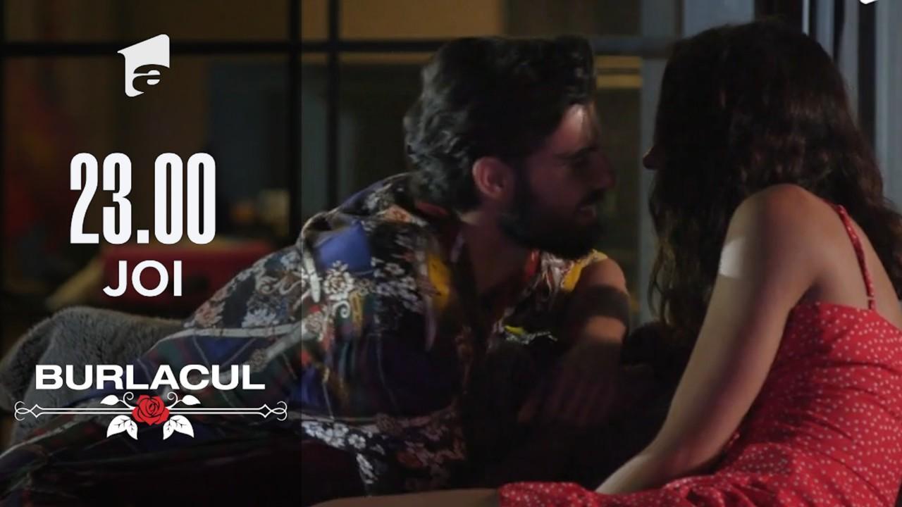 Melissa și Burlacul, sărut pasional! Andi Constantin îi dă trandafirul salvator