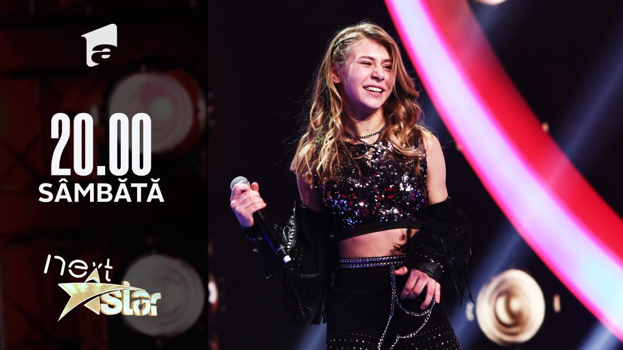"Next Star - Sezonul 10: Polina Mislinskaya - Interpretează piesa ""Whole Lotta Love"""