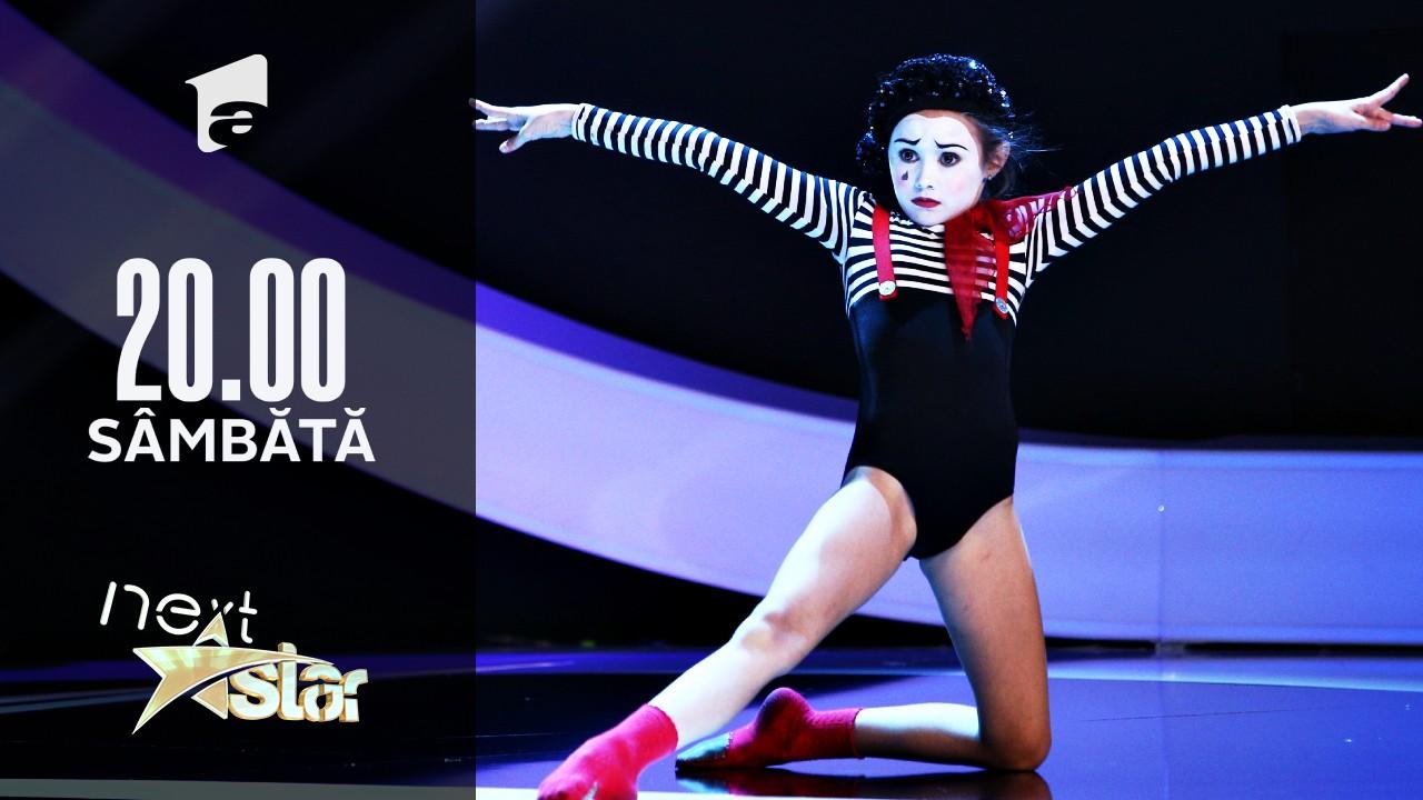 Next Star - Sezonul 10: Isabel Ioniță - moment de balet