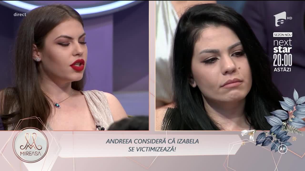 Andreea și Izabela, conflict neașteptat. De la ce a pornit cearta