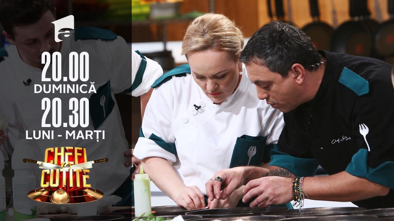 """Preparatul echipei lui chef Sorin Bontea arată dezastrous! """"Numai macarons nu sunt astea! Pregătiţi-va de duel!"""""""