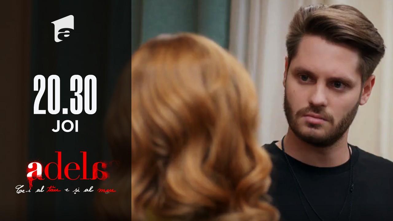 Adela, episodul 42. Delia, la un pas să-i spună lui Luca cine e tatăl lui adevărat!