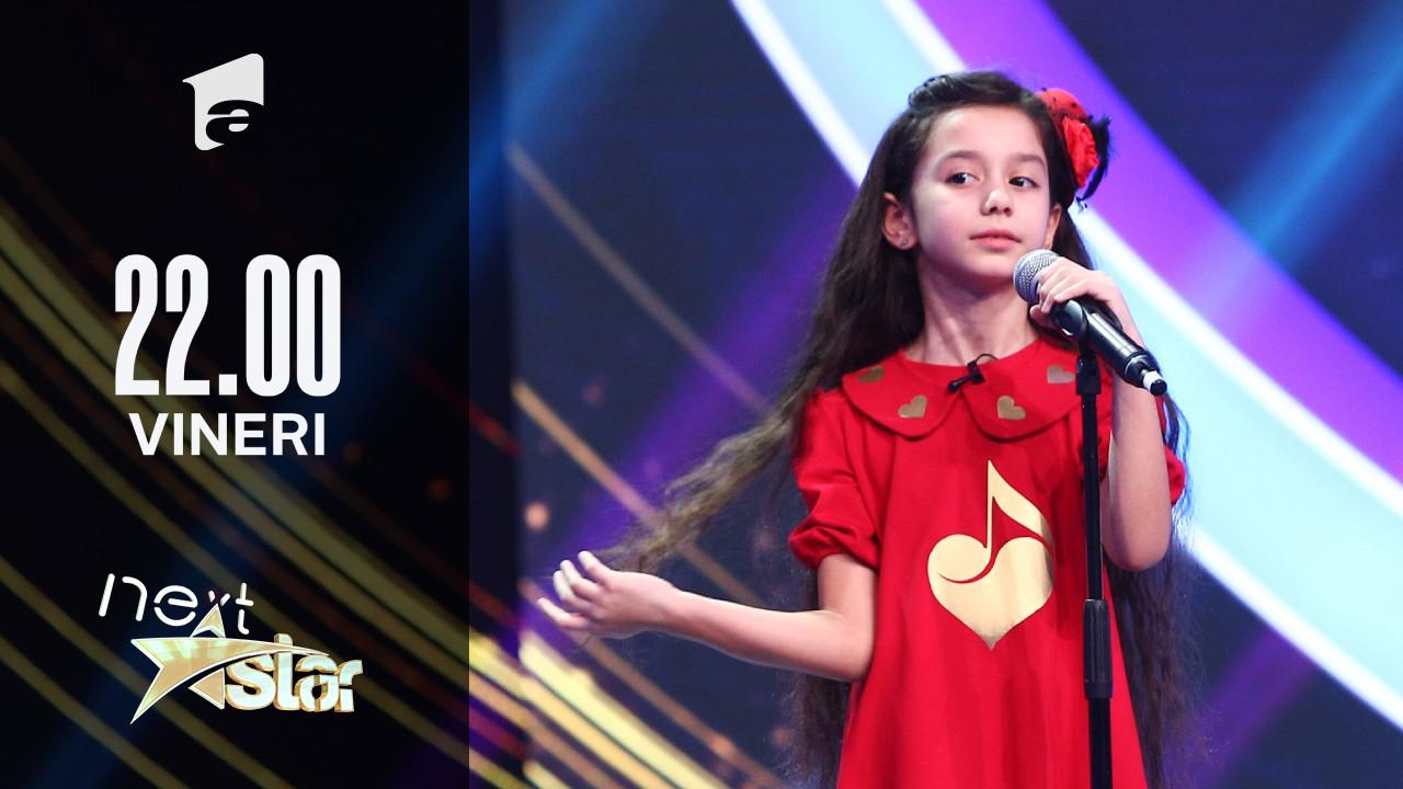 "Next Star - Sezonul 10: Natalia Bolchiș – Interpretează piesa ""Je ne regrette rien"""