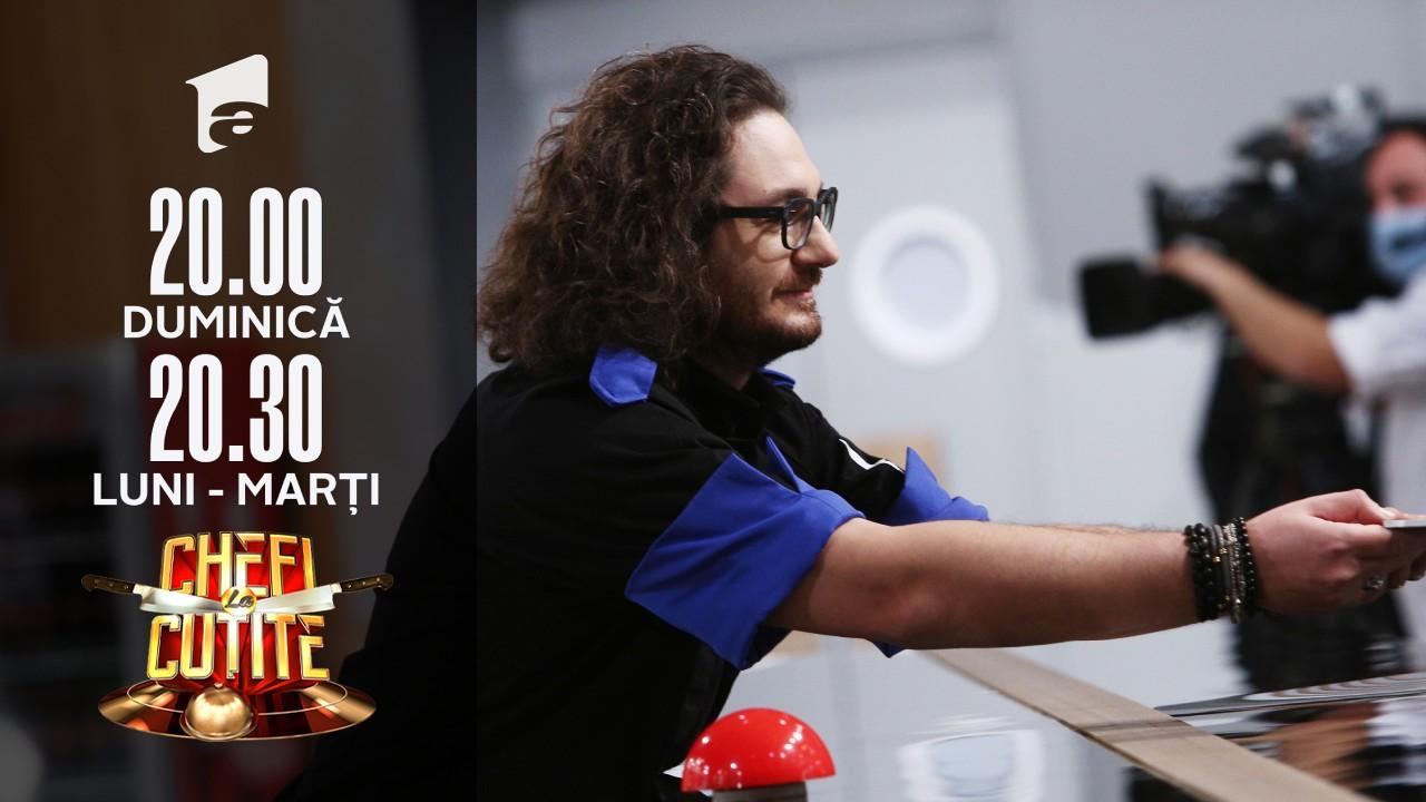 """Când doi se bat în amulete al treilea câştigă! Chef Dumitrescu l-a adus înapoi la echipa albastră pe """"fiul rătăcitor"""""""
